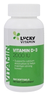 LuckyVitamin Vitamin D-3 2000 IU - 365 Softgels