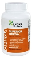 LuckyVitamin Superior Omega-3 - 60 Enteric Coated Softgels
