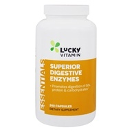 LuckyVitamin Super Digestive Enzymes - 240 Capsules