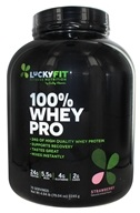 LuckyFit - 100% Whey Pro Powder Strawberry - 4.94 lbs.