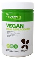 LuckyFit - Vegan Meal Replacement Powder Chocolate - 1.7 lbs ...