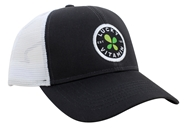LuckyVitamin Gear - Trucker Hat Charcoal Gray/White