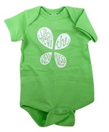 LuckyVitamin Gear - Infant Onesie 6 Months Green